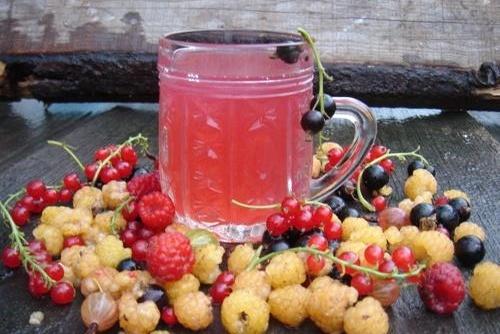 ягодный компот