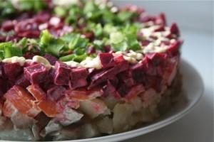салат под шубой рыба