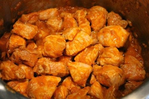 Рецепт гуляша из свинины с морковью пошагово