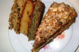 торт богатыря три