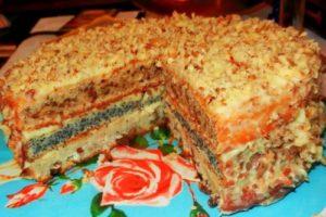 трехслойный торт три богатыря