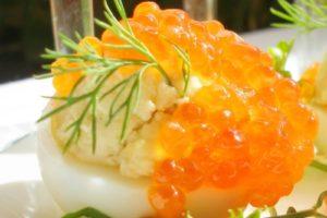 яйца фаршированые рыбой