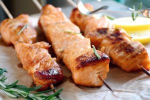 из рыбы шашлык
