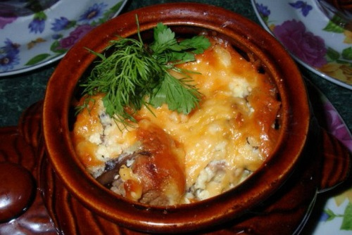 Горшочки свинина с картошкой в духовке рецепты пошагово
