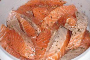 рыба шашлык