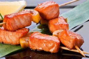 шашлык рыба