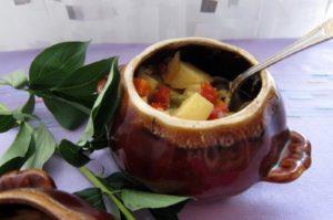 овощное рагу горшочки