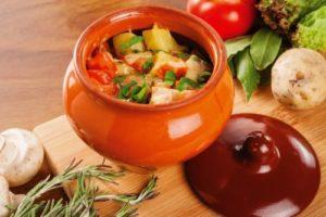 овощное рагу в горшочках