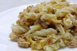 макароны с сыром по флотски