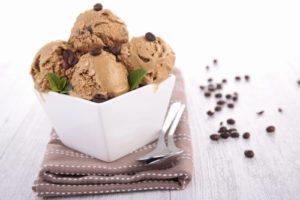 мороженое и кофе
