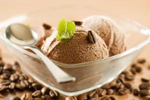 мороженое кофе